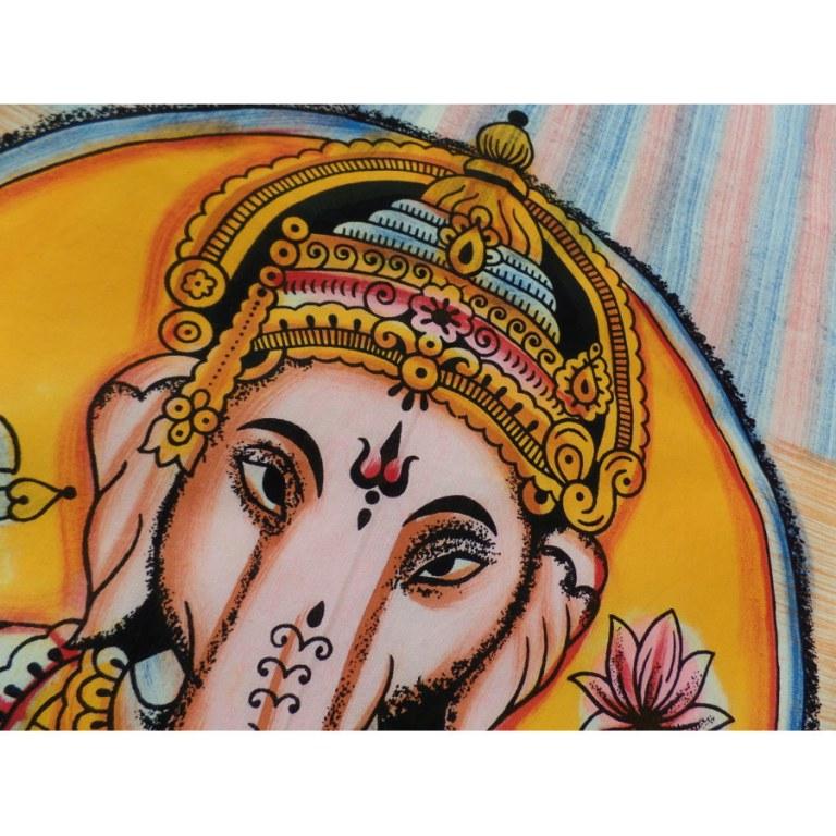 Tenture Bada Ganapati et son rat