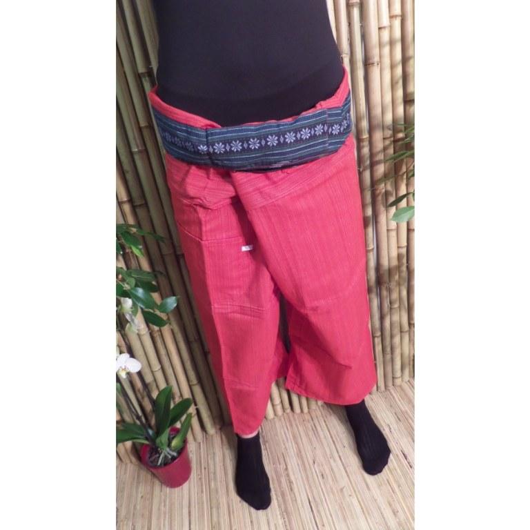 Pantalon Myanmar rouge