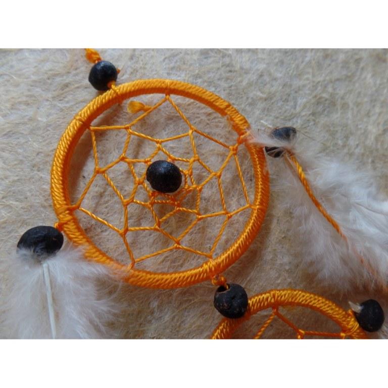 Capteur de rêves orange insami II