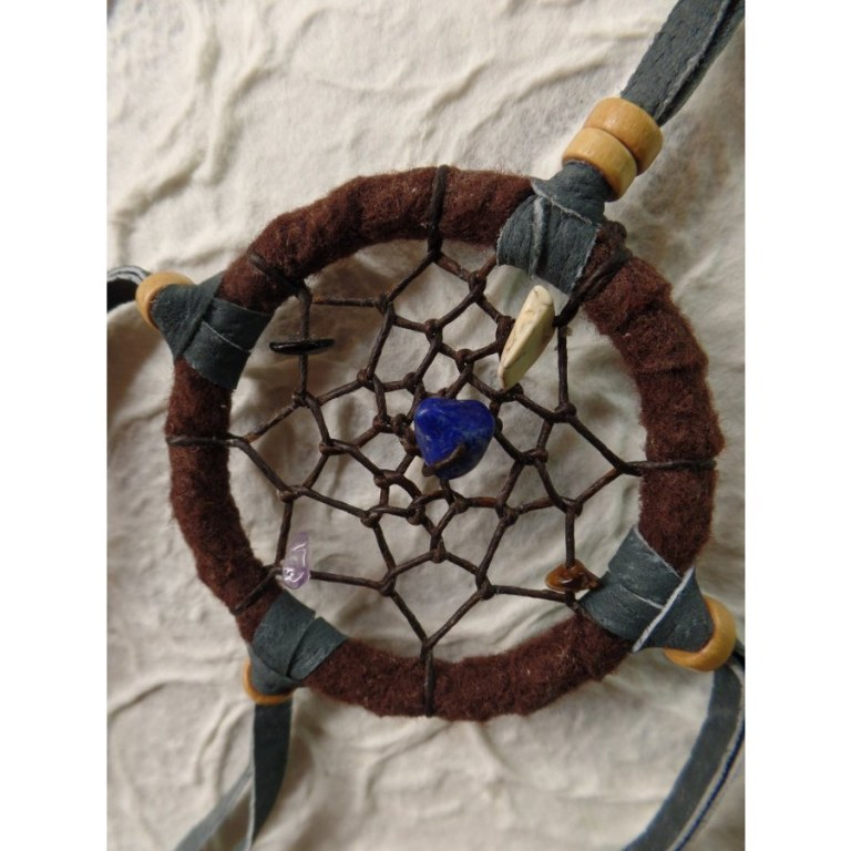 Petit dreamcatcher marron taak