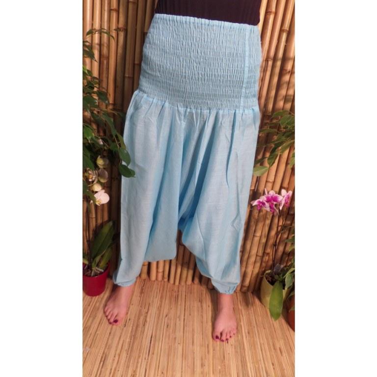 Pantalon Afghan bleu ciel