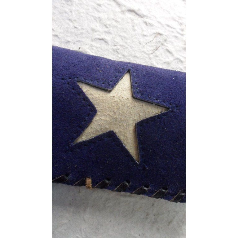 Blague à tabac marine étoile blanche