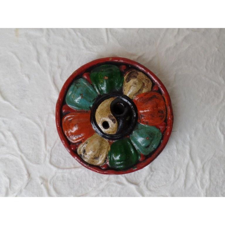 Brûle encens fleur de lotus/yin yang