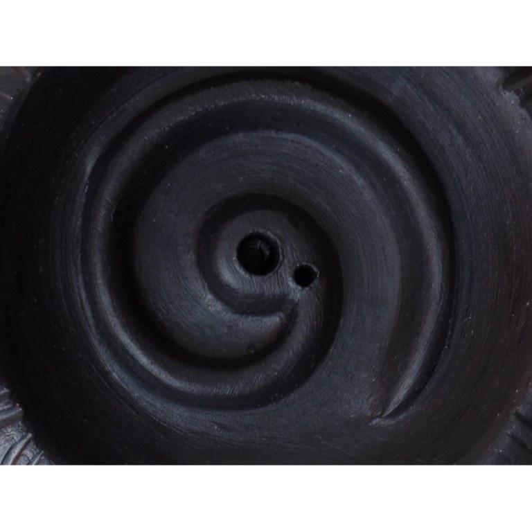 Brûle encens coupelle spirale