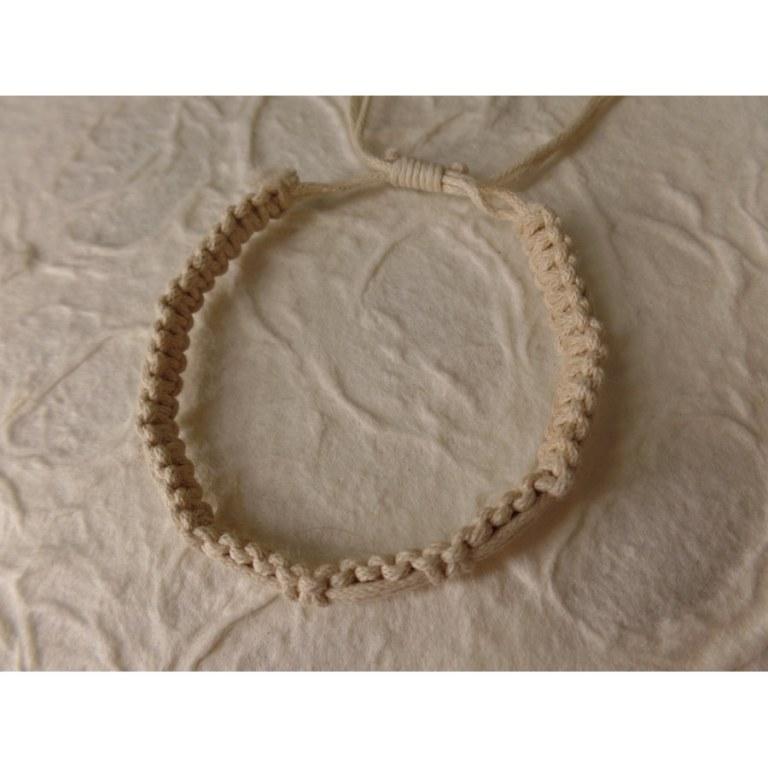 Bracelet tali écru modèle 9