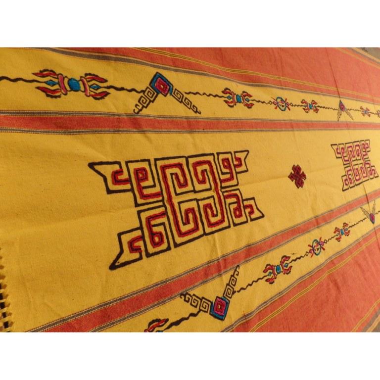 Tenture Pokhara noeud infini Bouddha eyes