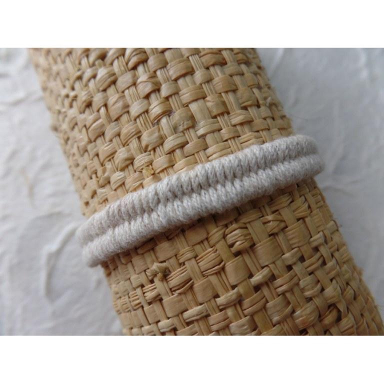 Bracelet tali écru modèle 4