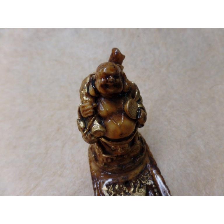 Porte encens Bouddha chinois debout