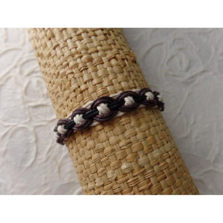 Bracelet tali chocolat modèle 3