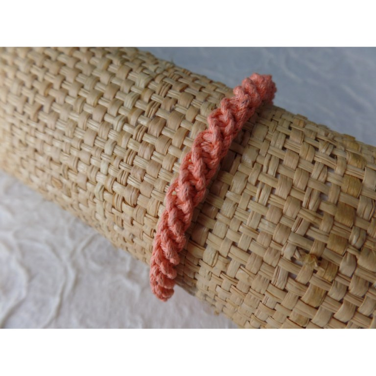 Bracelet tali saumon modèle 2