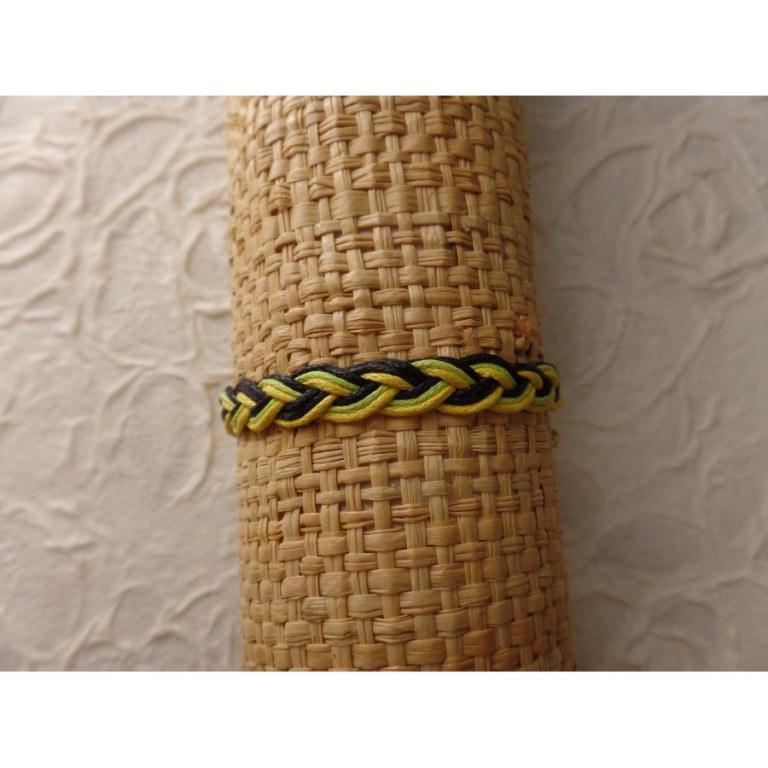 Bracelet 2 fils tali Jamaïque modèle 5