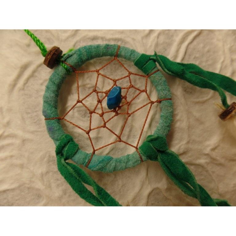 Mini capteur de rêves vert henari