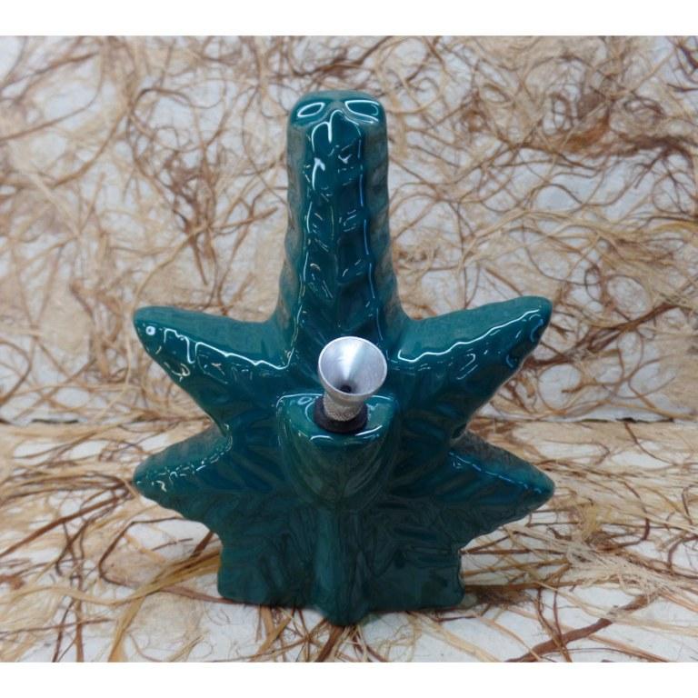 Bang céramique leaf turquoise