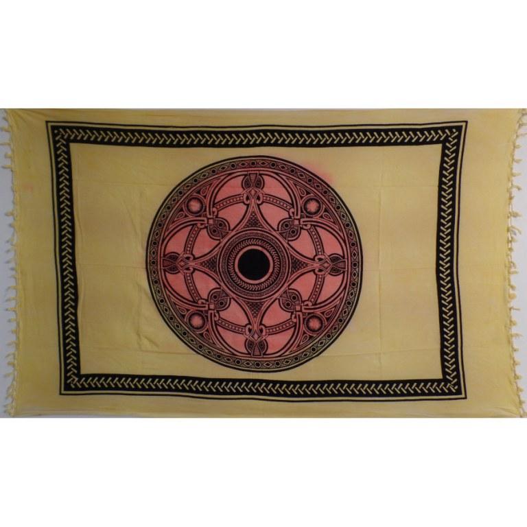 Tenture roue celte