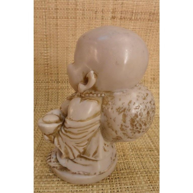 Bouddha clair Pu Tai debout