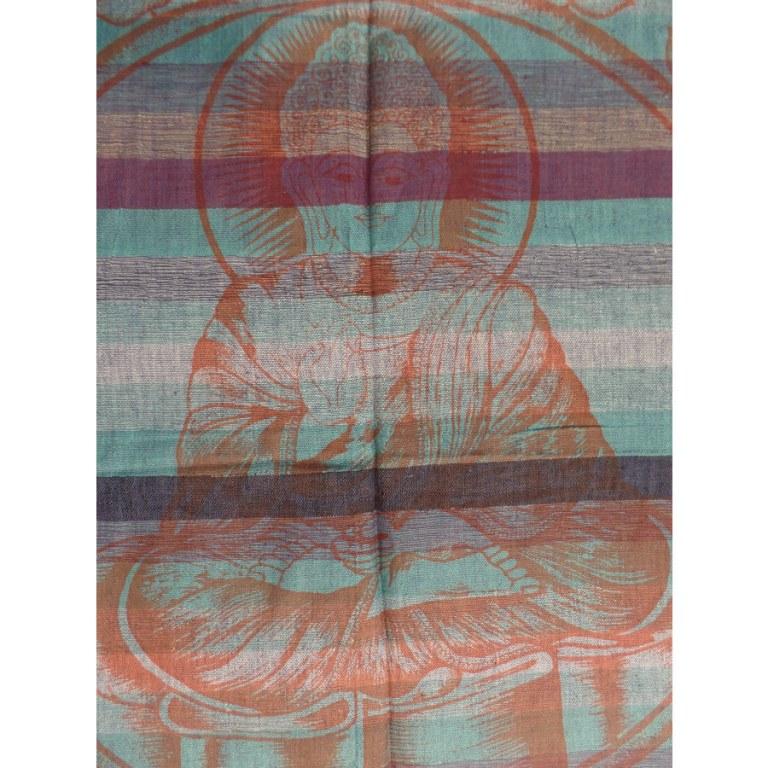 Tenture kadhi Bouddha vitarka mudra