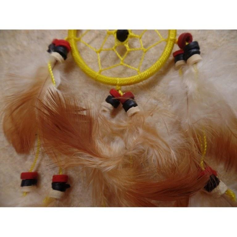 Mini dreamcatcher pingasut jaune