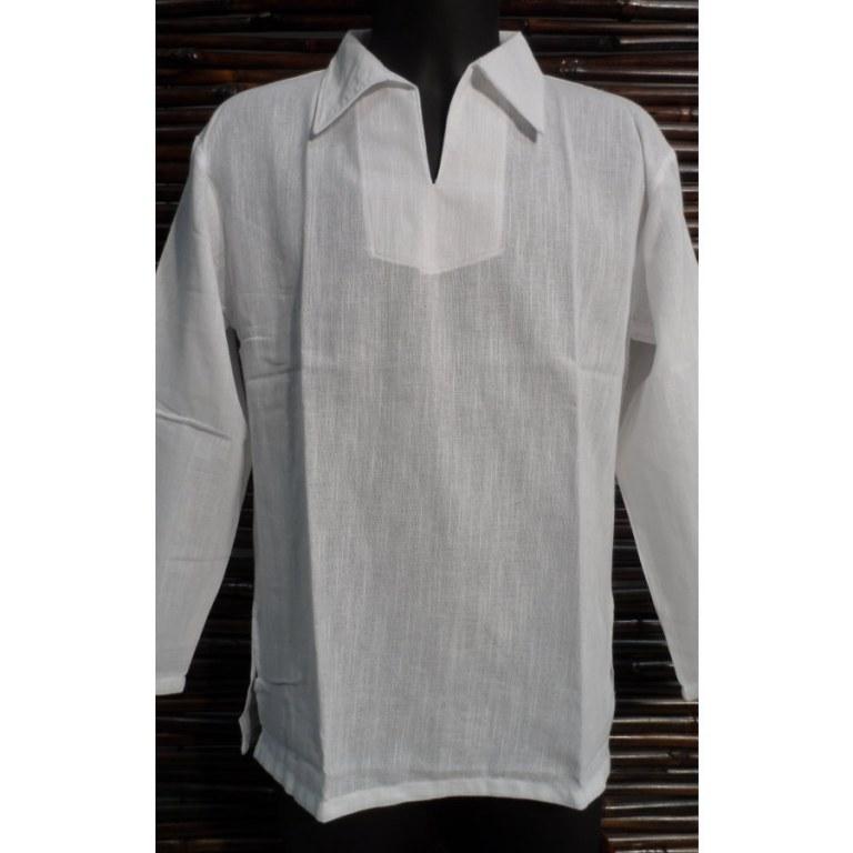 Chemise blanche Lampang