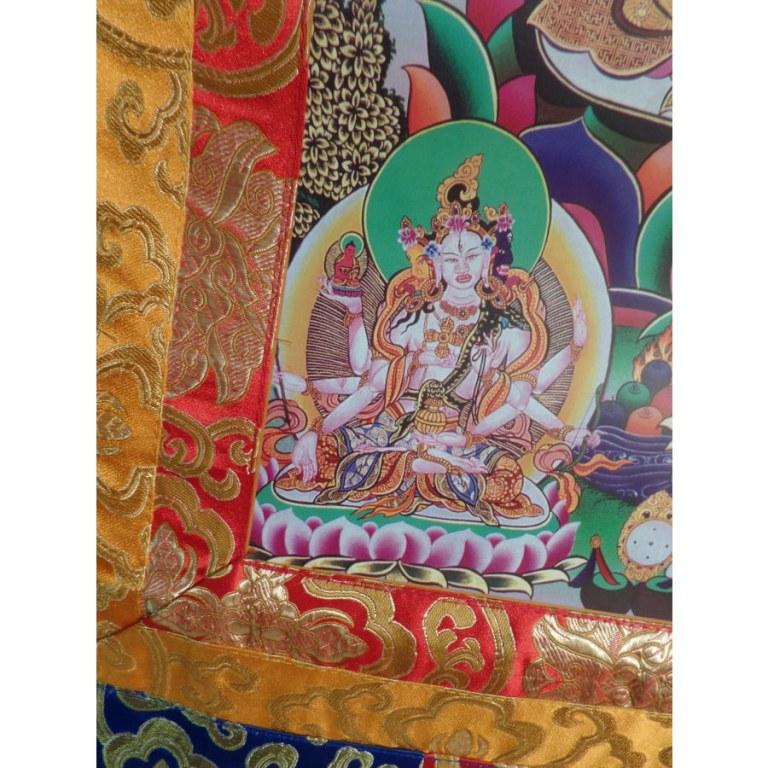 Grand thangka Amitabha