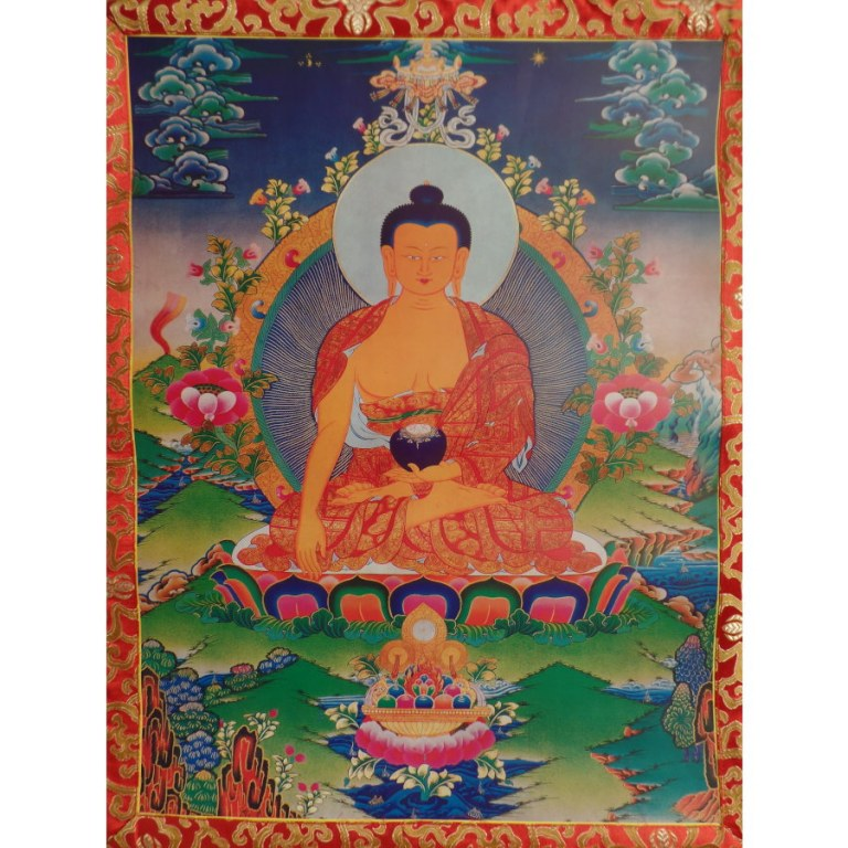Grand thangka Ratnasambhava