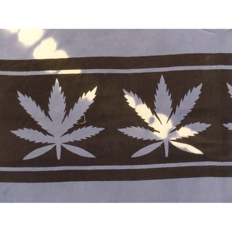 Tenture rasta feuilles