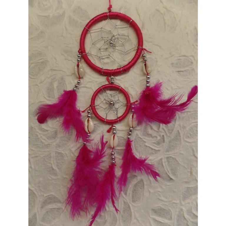 Capteur de rêves fuschia apache