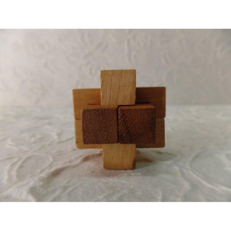 Casse-tête croix 6 pièces