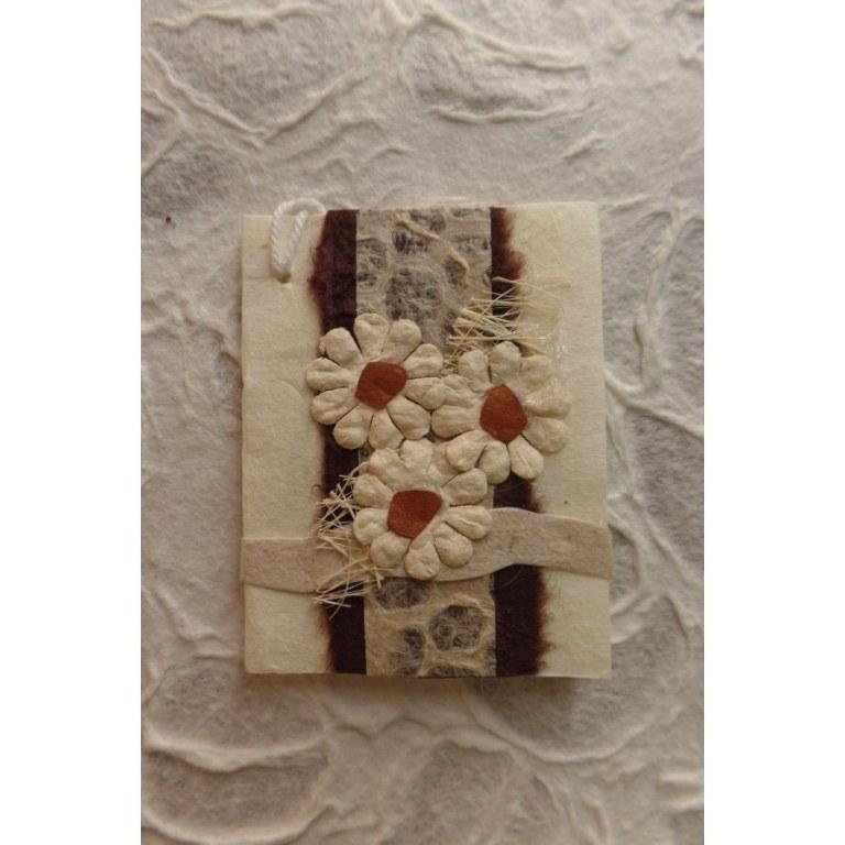 Mini carte 3 fleurs