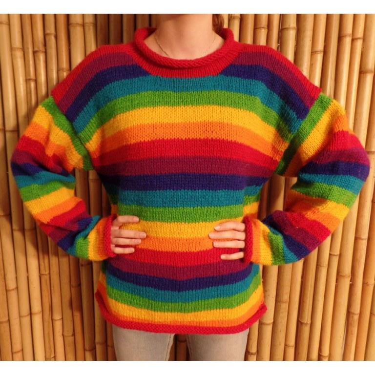 Pull Cabaray rainbow