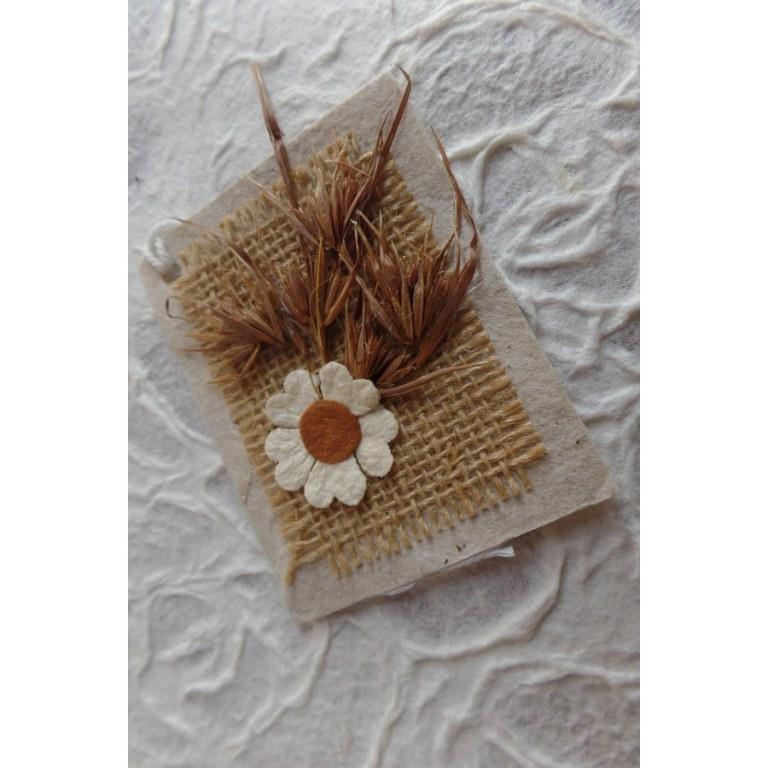 Mini carte fleur des champs