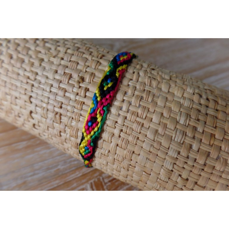 Bracelet brésilien Manaus plat 51