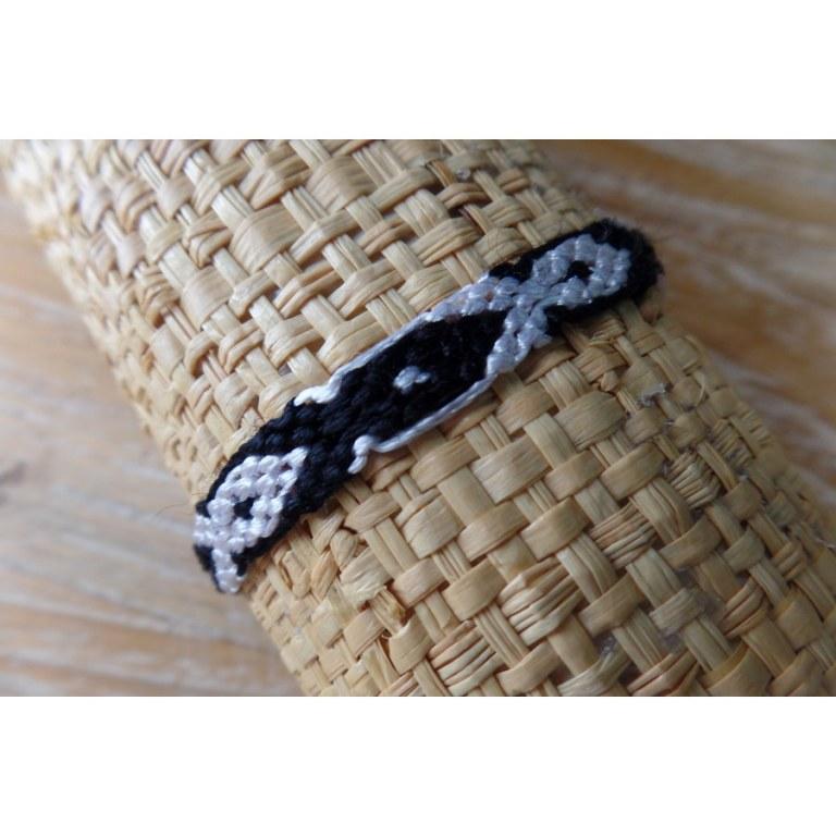 Bracelet brésilien Manaus plat 54