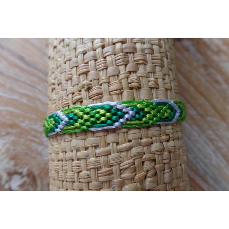 Bracelet brésilien Manaus plat 64