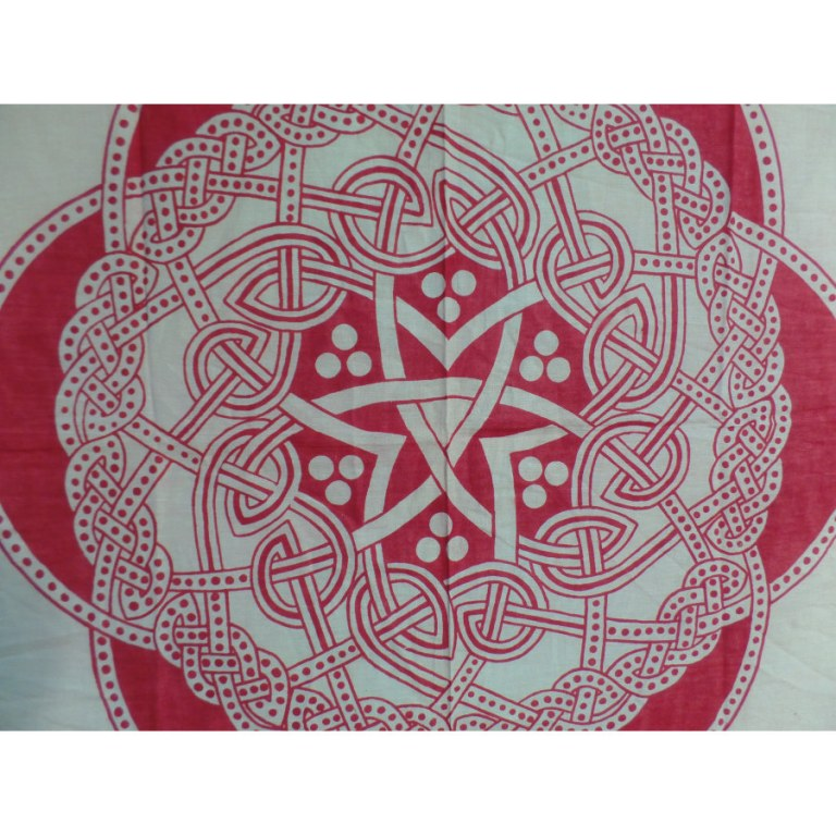 Tenture fleur celte