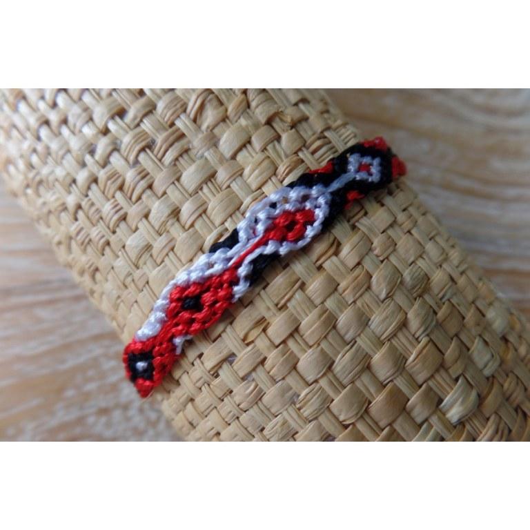 Bracelet brésilien Manaus plat 71
