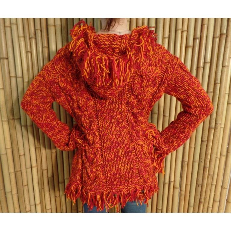 Veste orange Sarapo