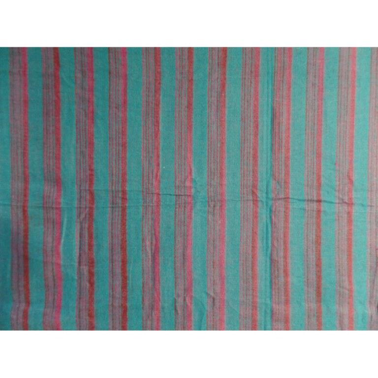 Couverture zen bleu/mauve