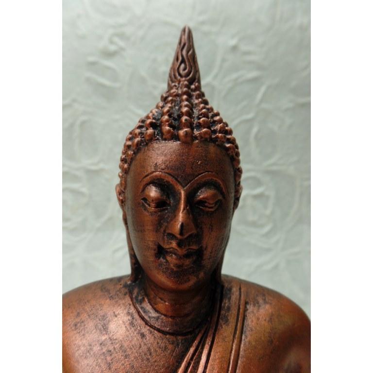 Bouddha Dhyani-Mudra cuivré