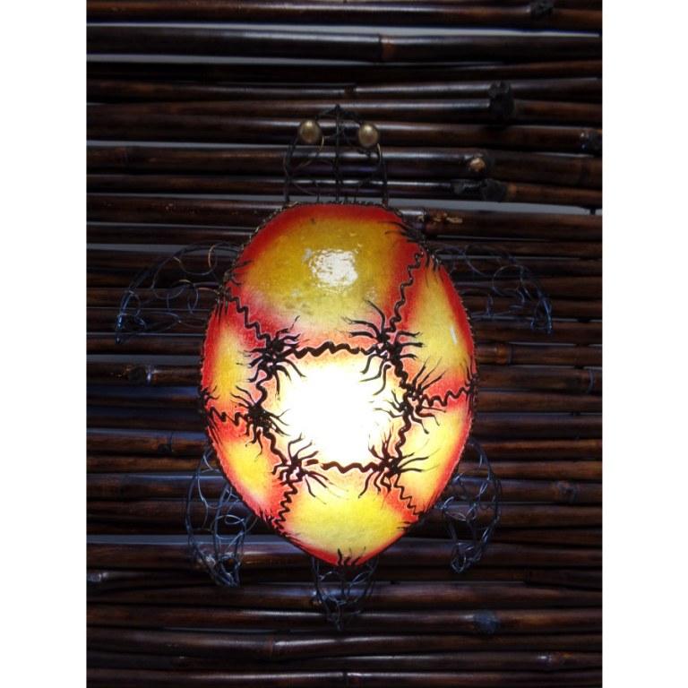 Lampe murale tortue