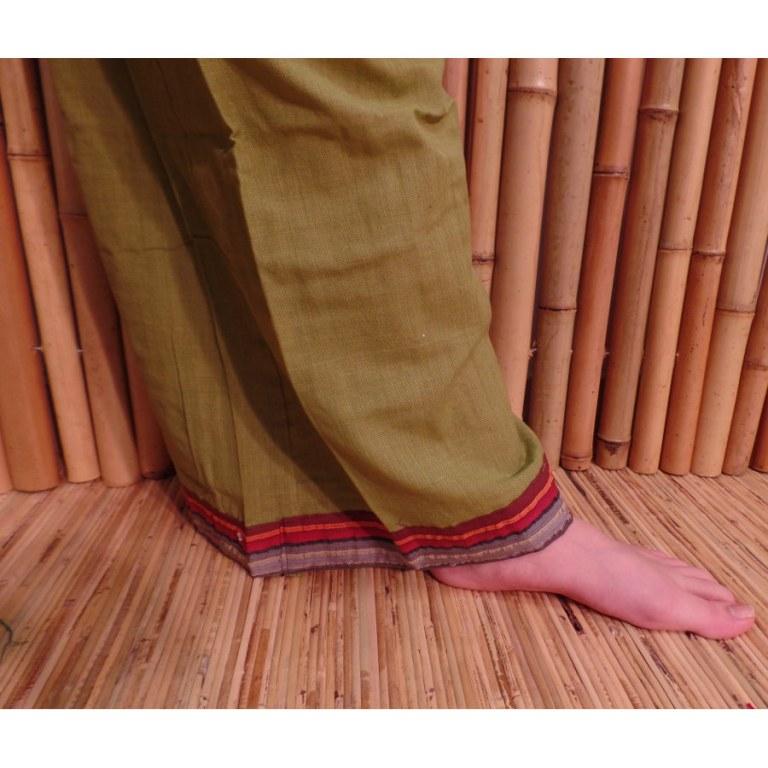 Pantalon Kaski vert