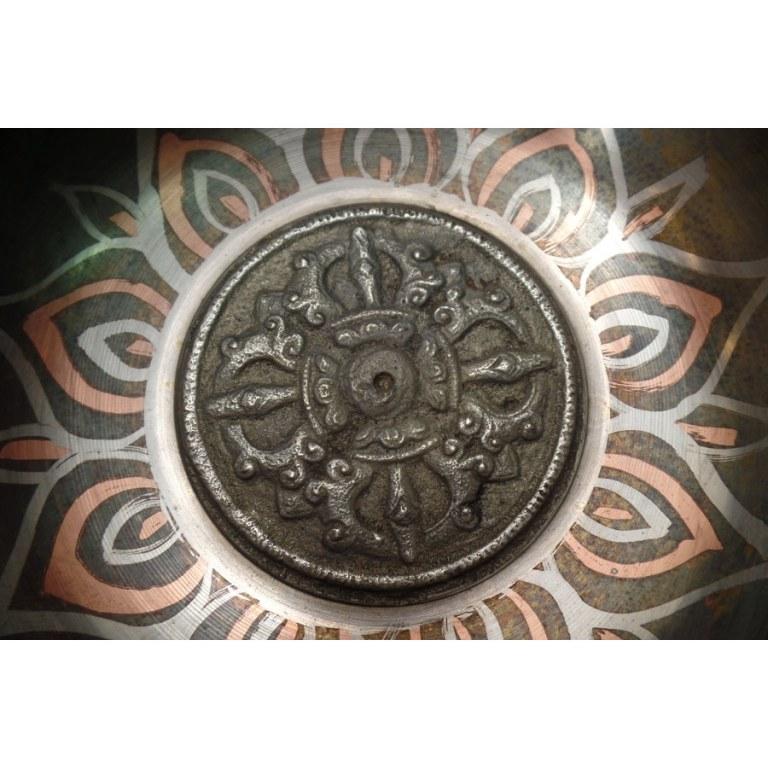 Bol tibétain mandala