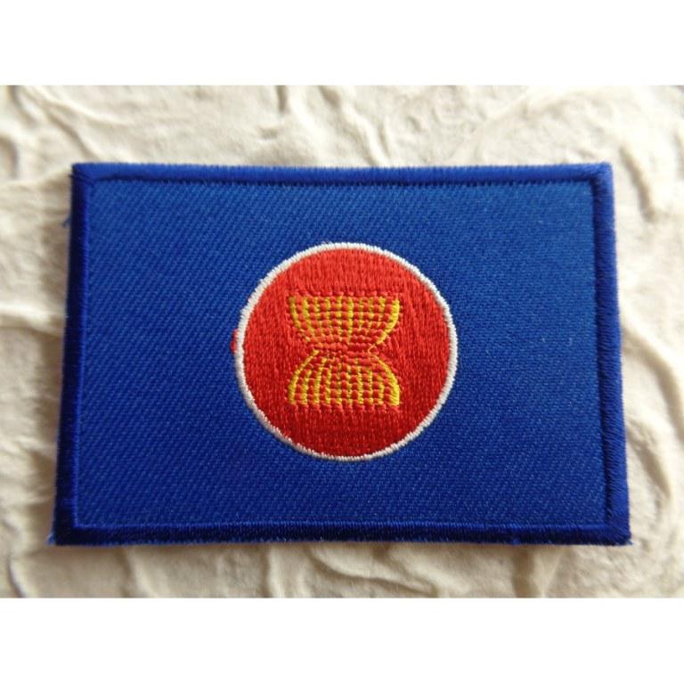 Ecusson drapeau Asean