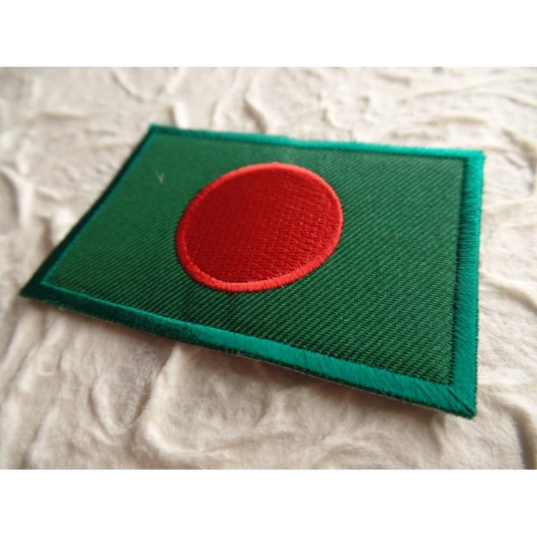 Ecusson drapeau Bangladesh
