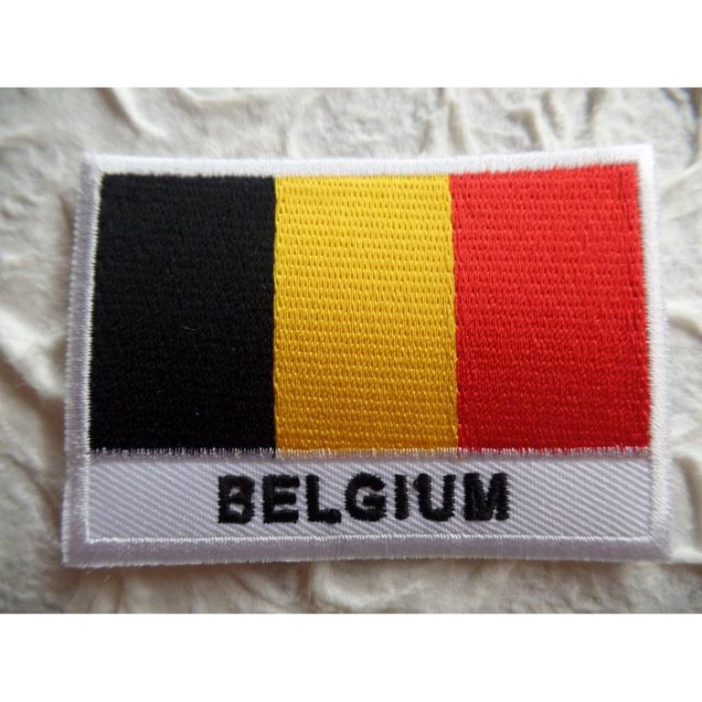 Ecusson drapeau Belgique