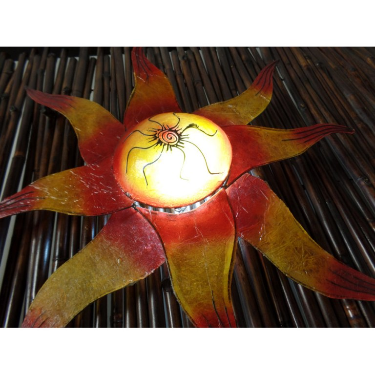 Lampe murale soleil