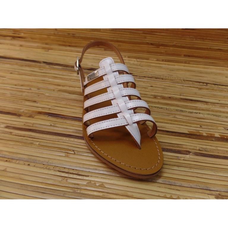 Sandales Tropéziennes Hérilo blanc