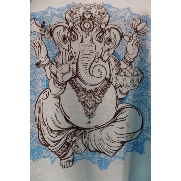 Débardeur bleu Ganesh