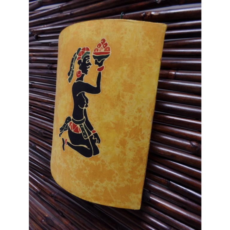 Applique murale jaune l'offrande