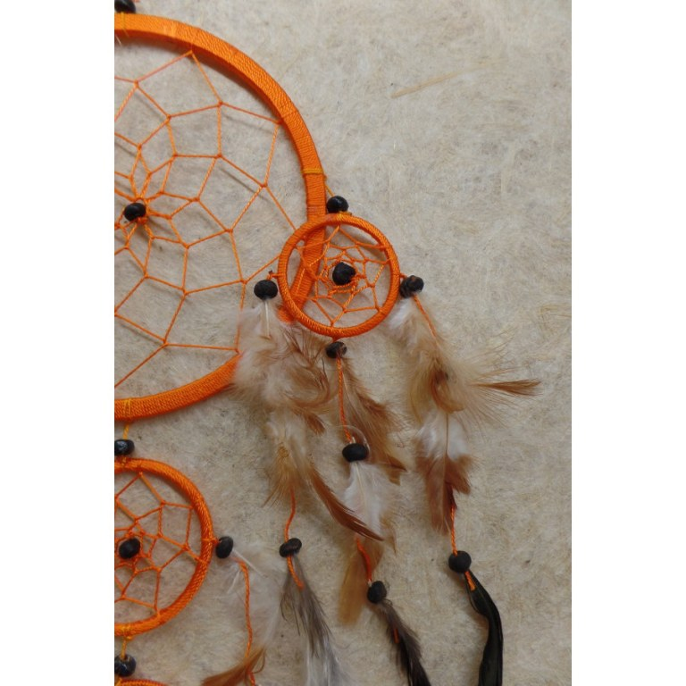 Attrape rêves orange Lumbees II