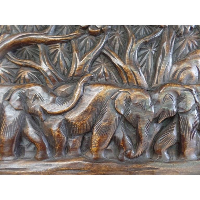 Tableau les éléphants